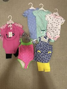 Brand New Girl Clothes 3m to 12m