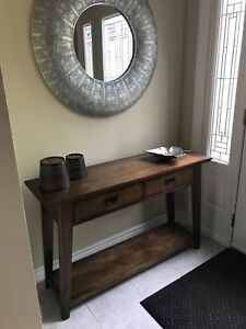 Sofa table. With 2 drawers