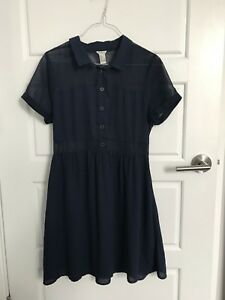 F21 Navy Blue Dress Size Small