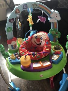 Laugh and learn activity jumperoo