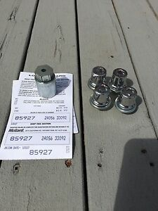 McGard wheel lock lug nuts