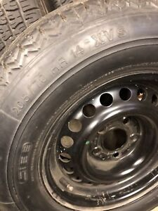 1975 Mercedes R107 steel rim/tire