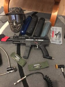Tippmann x7 complete paintball package