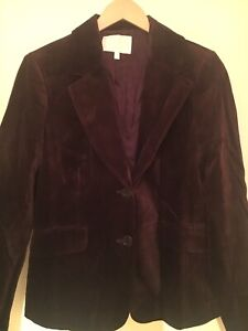 JOSEF brown velvet blazer