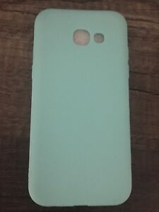 New never used Samsung A5 2017 silicone slim case mint