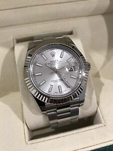 Rolex Datejust ii 41mm Silver stick dial Norwood Norwood Area Preview