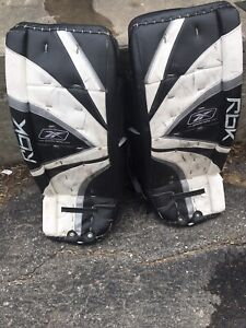 RBK and Itech goalie pads