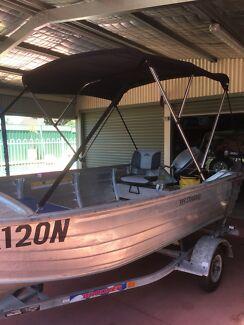 Aluminium boat 395 Bermuda 25 hp