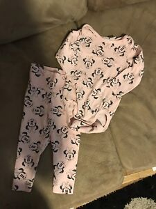 Minnie outfit 6-9 months