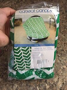 2 Brand New in Package Car Seat Canopies