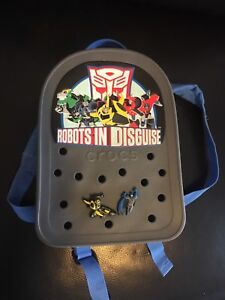 Crocs Robots in Disguise backpack. NEW