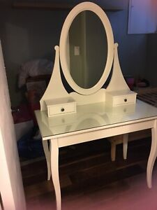 Ikea HEMNES Vanity Table