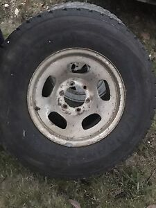Rims and tyres for sale. Hobart CBD Hobart City Preview
