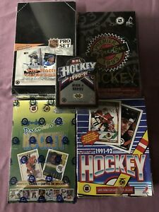 $49 HOCKEY CARDS 5X Boxes 75% OFF Perfect CHRISTMAS GIFTS $49.00