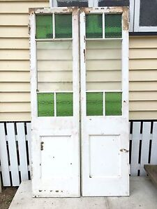 French doors - timber framed glazed pair Eumundi Noosa Area Preview
