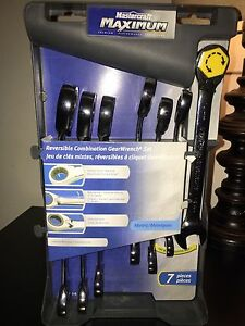 Mastercraft Maximum Combination GearWrench Set