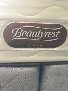 Sears Beauty Rest Sleep Mattress/Boxspring/and frame
