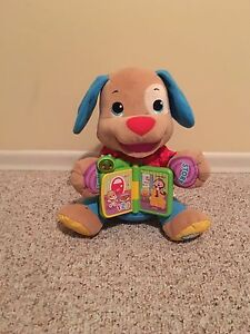 Fisher price story book puppy