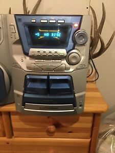 Panasonic 5 disc changer stereo