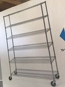 Commercial 6 Shelf system, brand new in box.