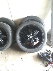 22 inch dubs 1000 obo or trade