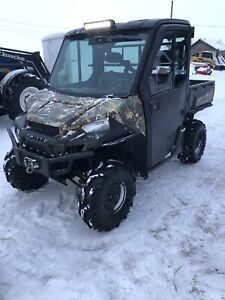 2014 Polaris 900 EBS Side by Side Browning Edition