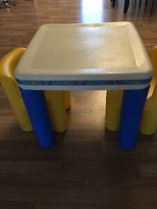 Kids table & chairs