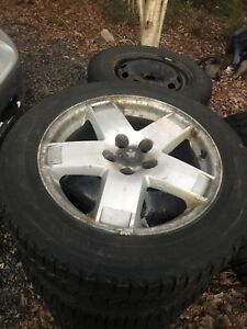 18 inch dodge wheels with winter tires