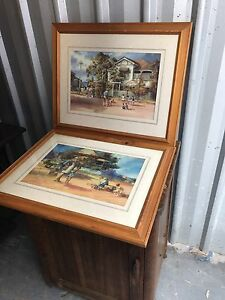 Set of 2 picture prints by d'Arcy W Doyle Dundas Parramatta Area Preview