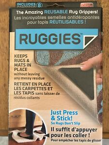 Ruggies, holds mats and rugs in place