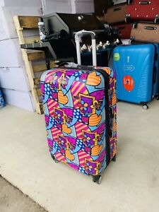 Hard case suitcase digital printed 3 pcs set new