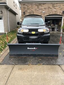 SnowEx Snow Plow 7600 RD(all wiring and mounts)