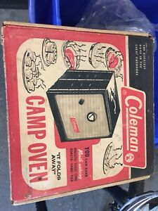 Coleman camping oven - antique