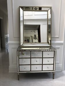 Mirror and drawer $250