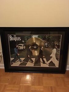 **** the Beatles framed picture