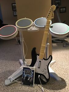 Rock band Wii game
