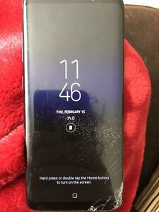 Cracked Samsung Galaxy S8