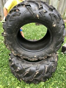 ATV tires. AT25x10-12
