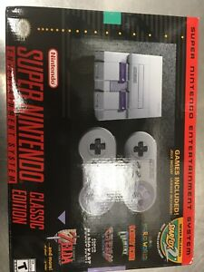 Super Nintendo brand new in box