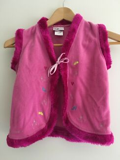 Disney Princess Sleeveless Jacket