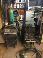 Small, medium and large welding