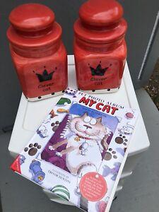 Cat treat jars