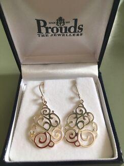 Sterling silver earrings!