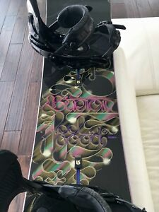 Snowboard femme Burton Feelgood Flying V 152