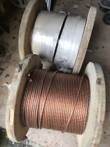 1000ft Copper clad ground wire (Read Ad)