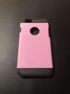 Pink/Black Spigen Slim Armour iPhone 6 Case