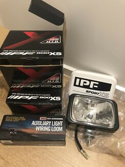 IPF Sport XS x2 driving lights + ARB wiring kit