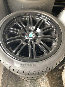 255/35R18 sur mags BMW M3 E46