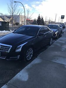 2014 Cadillac ATS AWD Sedan - 8 months remaining lots KM