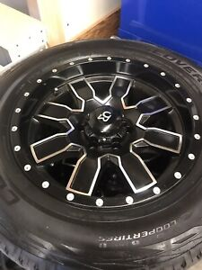 Rims and tires package